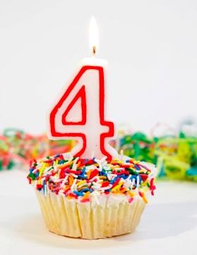 Happy 4th Anniversary!